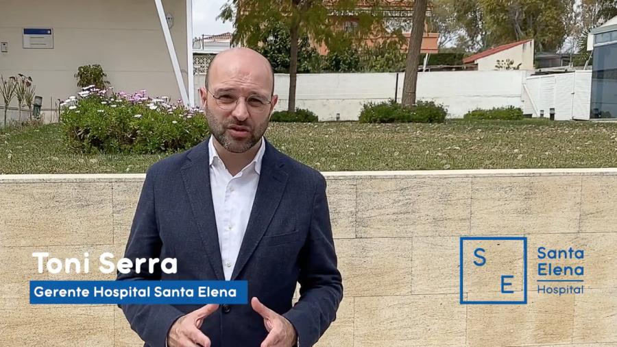 Antes de empeorar, llama Toni Serra - Hospital Santa Elena