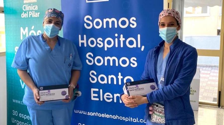 Hospital Santa Elena colabora con el Ayuntamiento de Málaga en el programa Málaga Segura