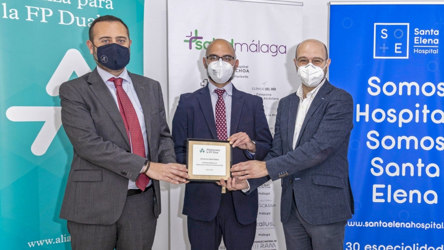 Acuerdo de La Asociación Salud Málaga con la Alianza para la Formación Profesional Dual