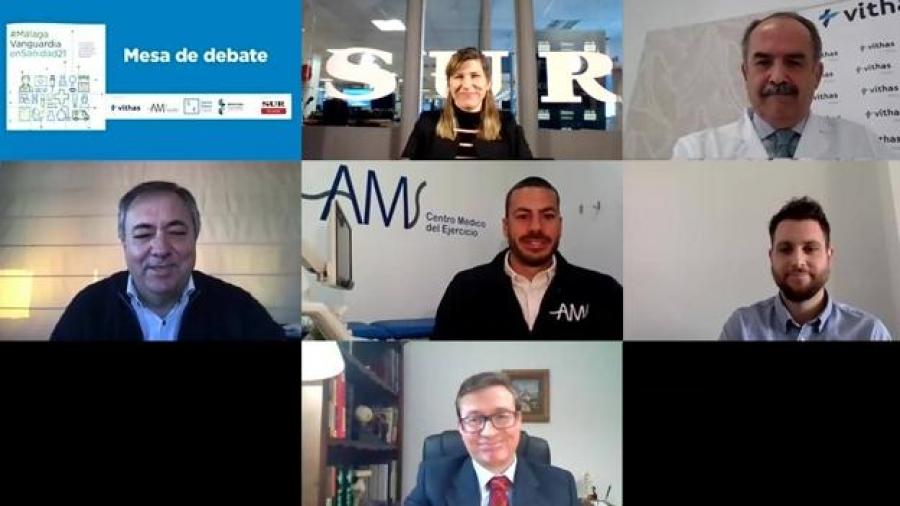 Mesa de debate traumatología - Diario Sur